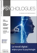 Le Journal des psychologues n°367