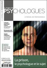 Le Journal des psychologues n°334